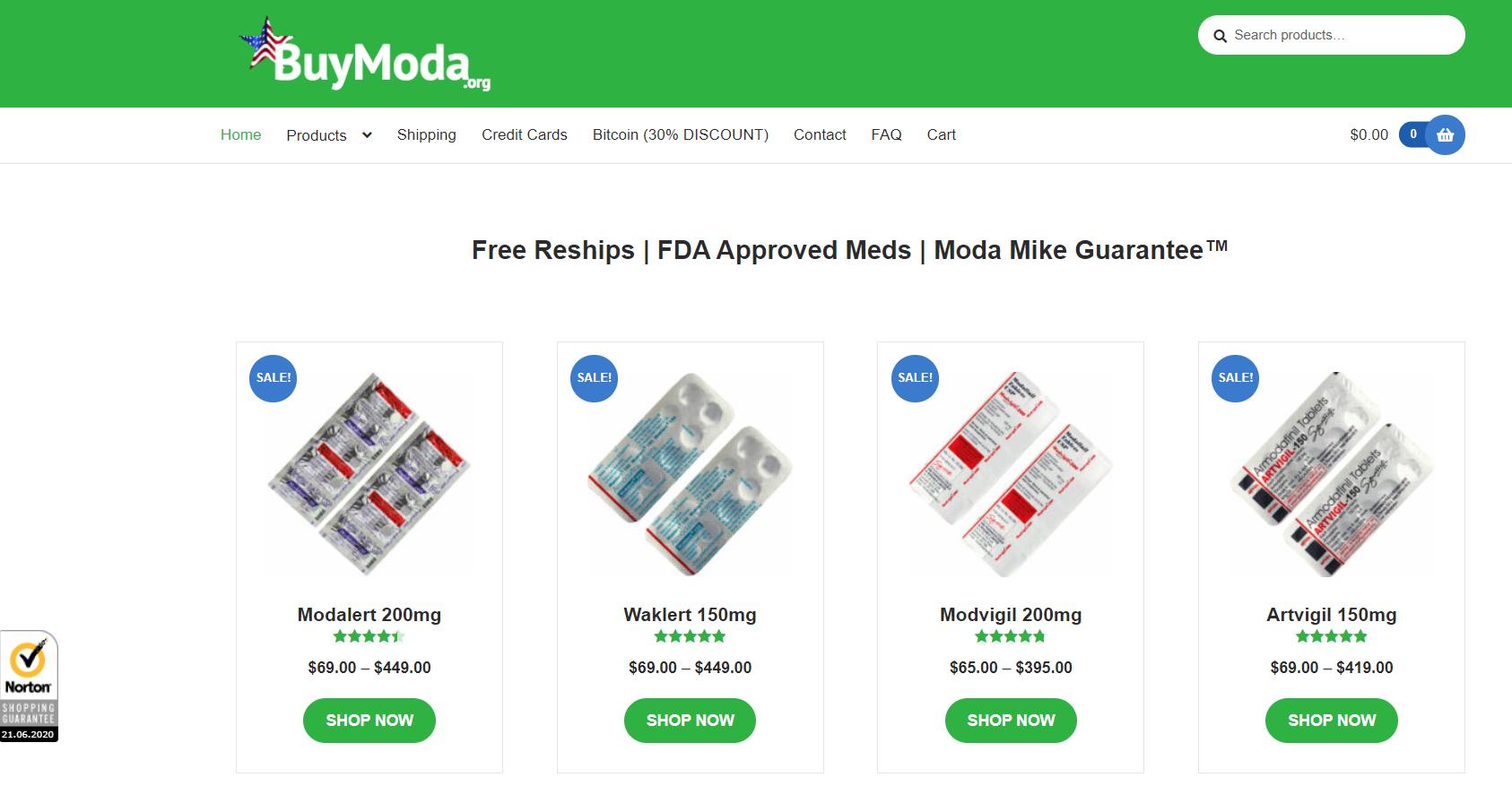 BuyModa Online Pharmacy